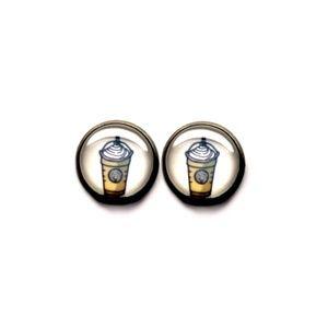 Starbucks Frappucino Coffee Earrings